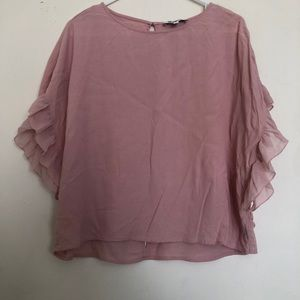 ❤️ 4 for $25 Ruffle blouse